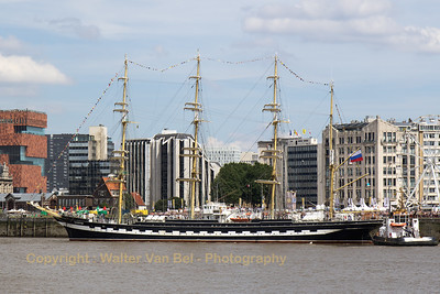 The Kruzenshtern or Krusenstern (Russian: Барк Крузенштерн) is a four-masted barque that was built in 1926 at Geestemünde in Bremerhaven, Germany as the Padua (named after the Italian city). She was surrendered to the USSR in 1946 as war reparation and renamed after the early 19th century Baltic German explorer in Russian service, Adam Johann Krusenstern (1770–1846). She is now a Russian sail training ship.