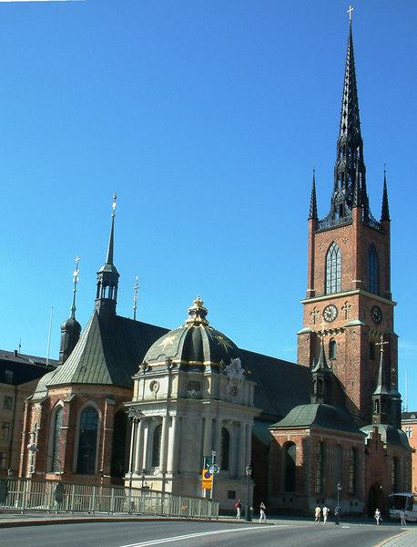 Riddarholmenkyrkan (Riddarholmen Church), Stockholm, 27-30 07 2006