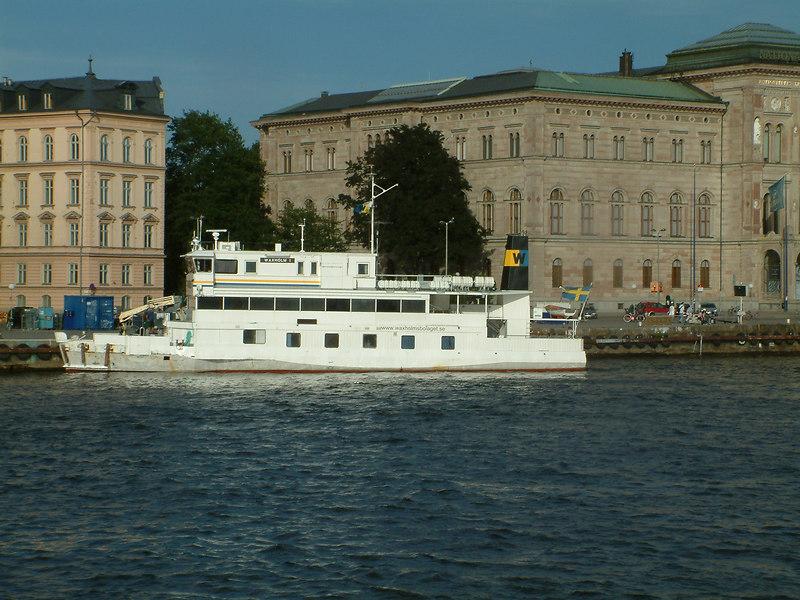 MV Waxholm I at Strömkajen in Stockholm 27 07 2006