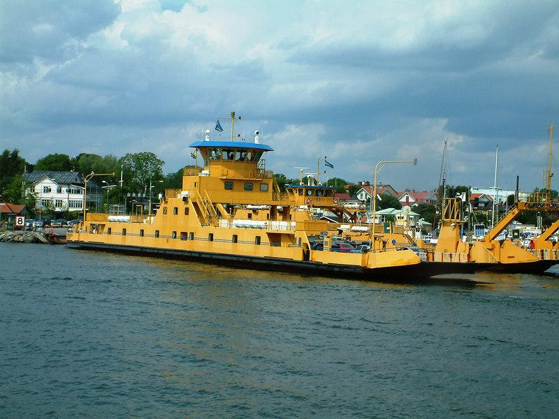 MV Vaxholmen and MV Castella at Vaxholm, 28 07 2006