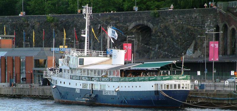 Restaurant ship Gustaf af Klint at Slussen, Stockholm, 27 07 2006
