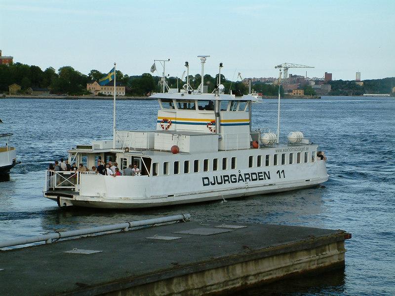 MV Djurgarden 11 at Gamla Stan, 27 07 2006