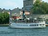 SS Norrskar passing Vaxholm Castle, 28 07 2006