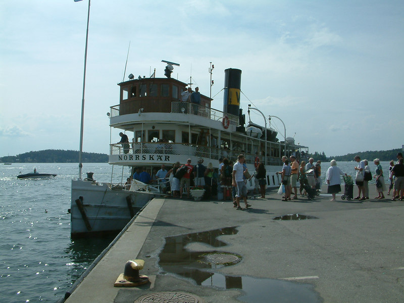 SS Norrskar at Vaxholm 28 07 2006
