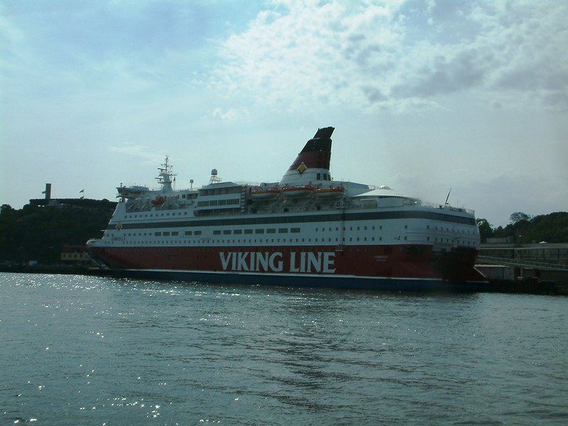 Viking Line ferry Gabriella at Stadsgardshamnen, Stockholm, 28 07 2006