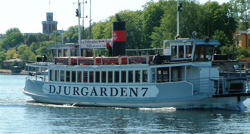 MV Djurgarden 7 off Skeppshholmen, 30 07 2006