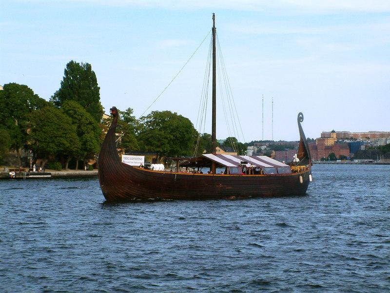Viking Cruises 'longship', Saltsjon, 28 07 2006
