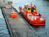 MV Stockholm Fonix, the City of Stockholm fire boat, Gamla Stan, Stockholm, 27 07 2006