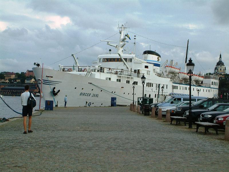 Anedin Line cruise ship Birger Jarl at Gamla Stan, Stockholm, 29 07 2006