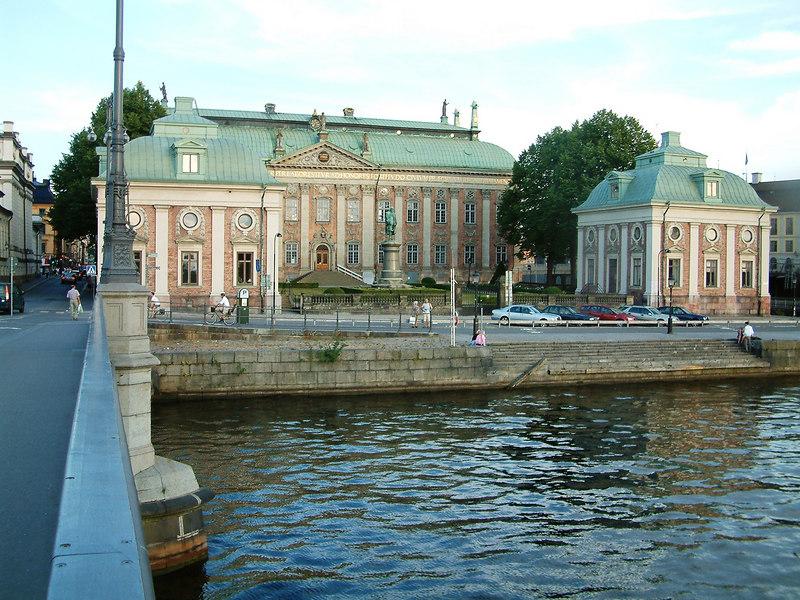 Riddarhuset (House of Nobility) from Vasabron (Vasa Bridge), Stockholm, 27 07 2006