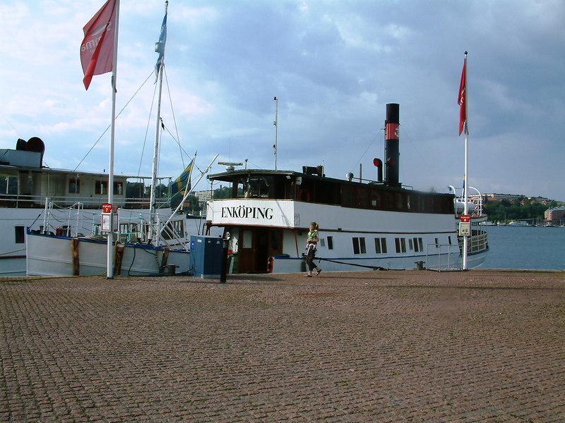 MV Enkoping at Klara Malarstrand, Stockholm, 28 07 2006