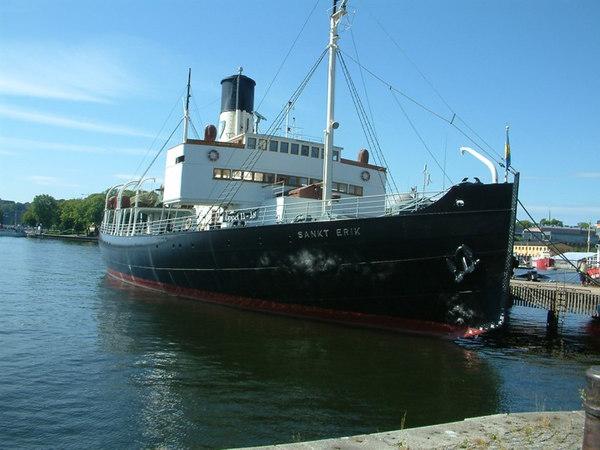 Icebreaker SS Sankt Erik (ex Isbrytaren II) at the Maritime Museum, Stockholm, 30 07 2006