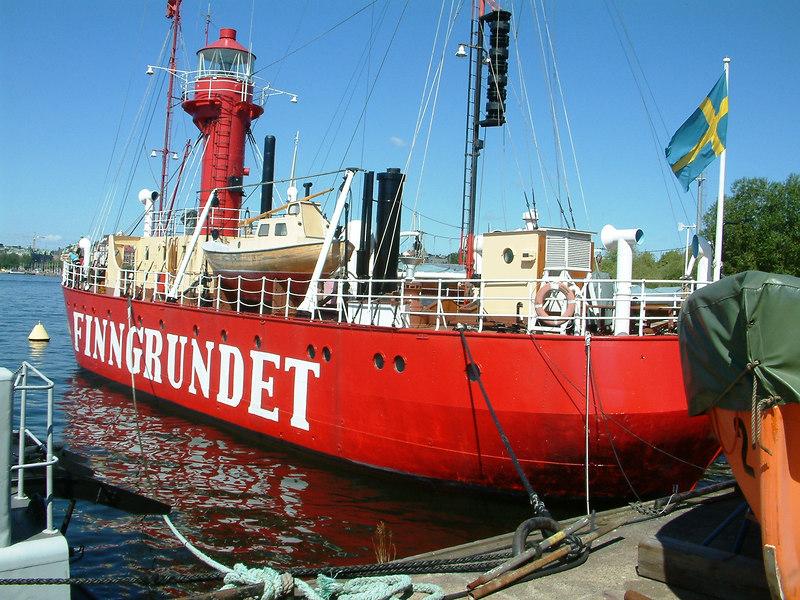 Lightship Finngrundet at the Maritime Museum, Stockholm, 30 07 2006