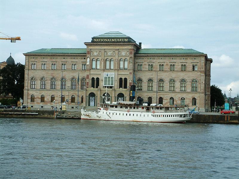 SS Storskar and the National Museum of Sweden, Stockholm, 29 07 2006