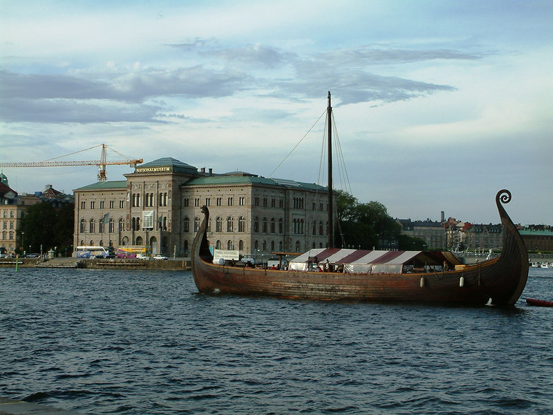 Viking Cruises 'longship', Stockholm, 28 07 2006