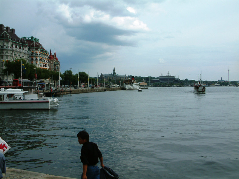 MV/SS Stockholm at Strandvagen, Stockholm, 28 07 2006