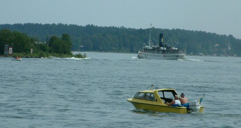 Storskar departing Vaxholm, 28 07 2006