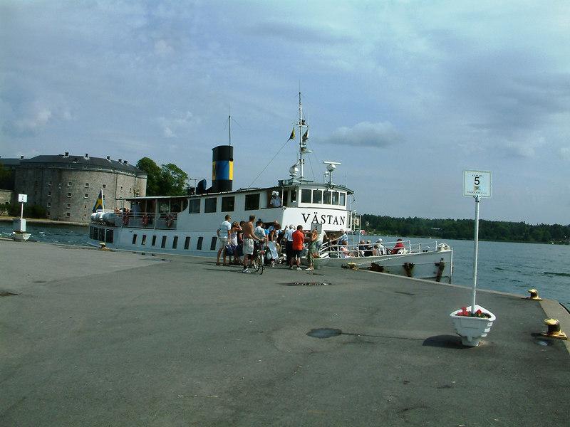 MV Vastan at Vaxholm, 28 07 2006