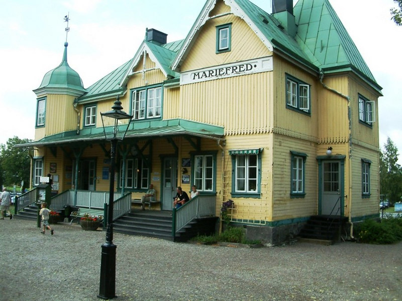 Mariefred Railway Station, Sweden, 29 07 2006