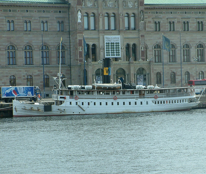 SS Storskar at Strömkajen in Stockholm 28 07 2006