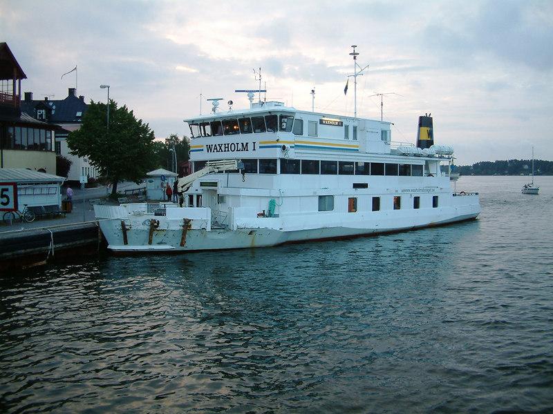 MV Waxholm I at Vaxholm, 29 07 2006