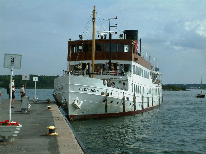 MV/SS Stockholm at Vaxholm, 28 07 2006