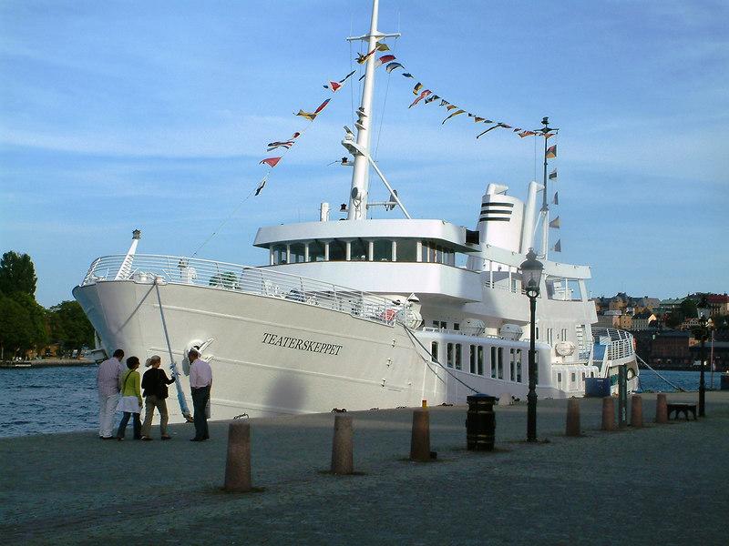 MV Teaterskeppet, Gamla Stan, Stockholm, 27 07 2006