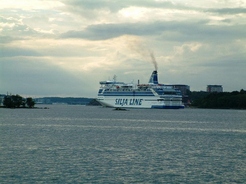 Silja Line ferry Silja Festival inbound to Stockholm from Abo, 29 07 2006