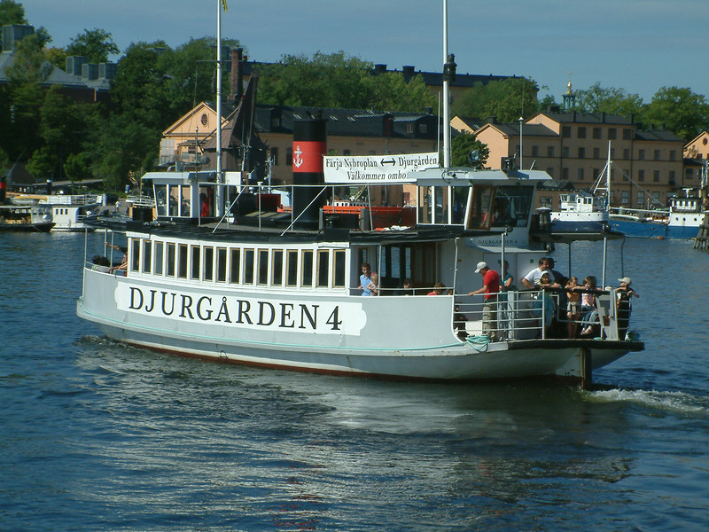 MV Djurgarden 4 at the Vasa Museum, 30 07 2006