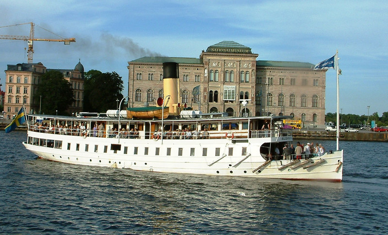 SS Blidosund and the Swedish National Museum, Stockholm