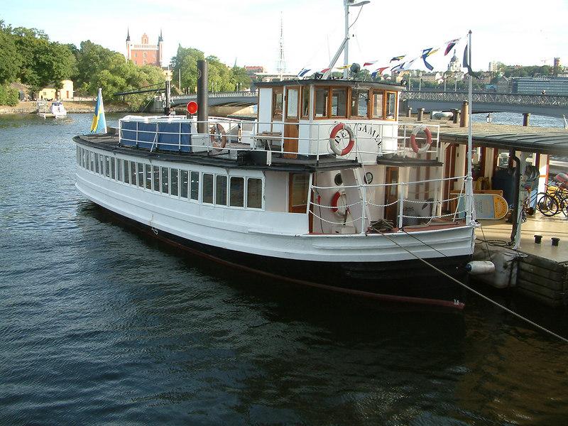 Oder Gamle, Blasieholmen, Stockholm, 27 07 2006