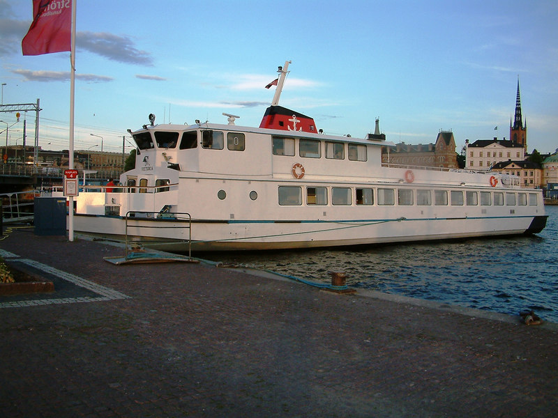 MV Malar Victoria at Klara Malarstrand, Stockholm, 27 07 2006