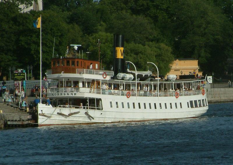 SS Norrskar at Strömkajen in Stockholm 27 07 2006