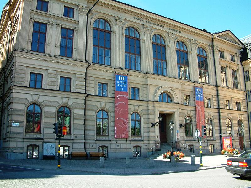 Academy of Music, Nybrokajen, Stockholm, 30 07 2006