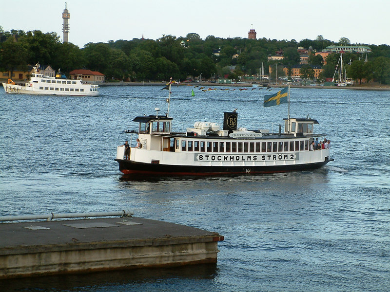 MV Stockholms Strom 2 off Gamla Stan, 27 07 2006