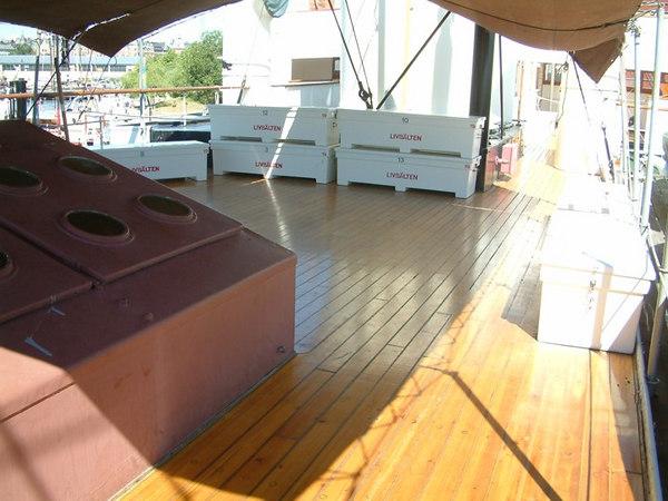 Icebreaker SS Sankt Erik, upper deck, 30 07 2006.