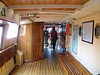 Main deck interior of SS Norrskar