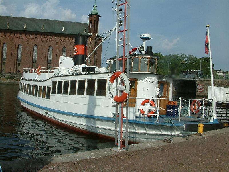 MV Angantyr at Klara Malarstrand, Stockholm, 28 07 2006