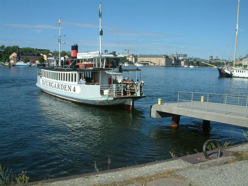MV Djurgarden 4 at the Vasa Museum, 30 07 2006