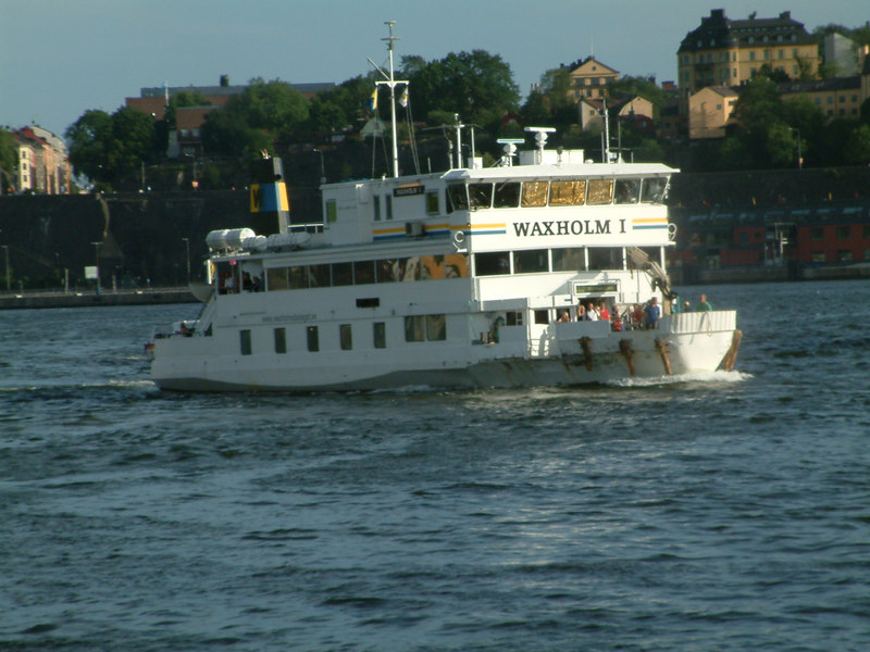 MV Waxholm I arriving at Stockholm, 27 07 2006
