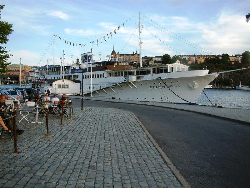 MV Malardrottningen, hotel ship at Riddarhamnen, Stockholm, 27 07 2006.