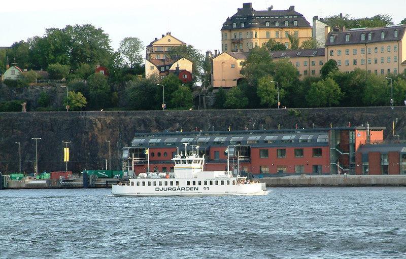 MV Djurgarden 11 off Slussen, 27 07 2006