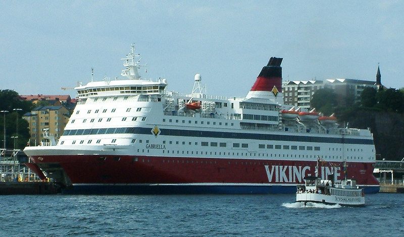 MV Stockholms Strom 2 and MV Gabriella, 28 07 2006