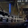 Port side, Vasa, Stockholm, 27 July 2015 1. Looking aft.  The masts and rigging are modern.