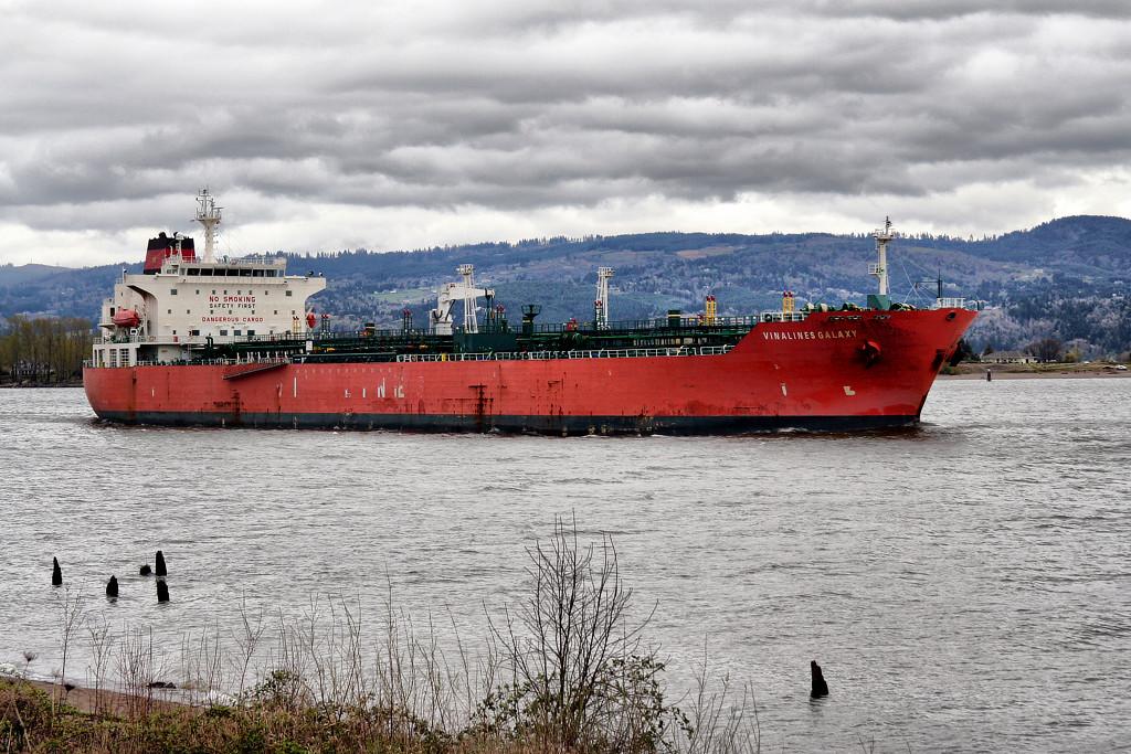 VINALINES GALAXY (9337339)  Columbia River, Columbia City, Oregon