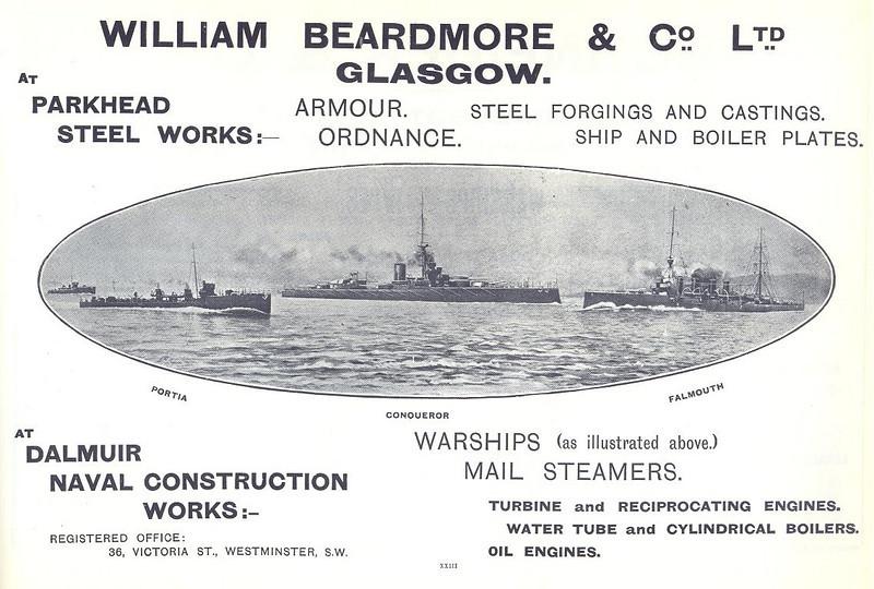 Beardmore advertisement