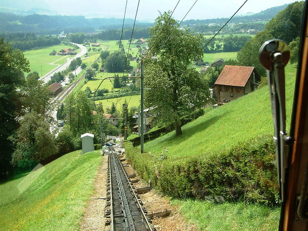 The Pilatus Mountain Railway and the 'folding' paddle steamer