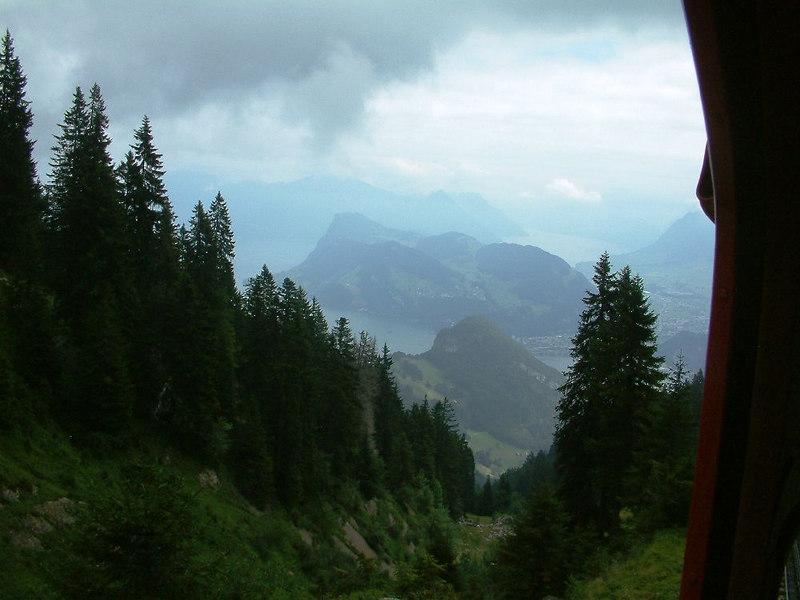 The mountains of Luzern