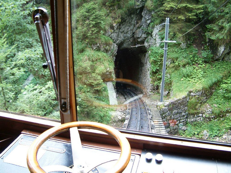Leaving the first tunnel