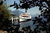 Back at Alpnachstad, paddle steamer Unterwalden awaits to convey Pilatus explorers back to Luzern.